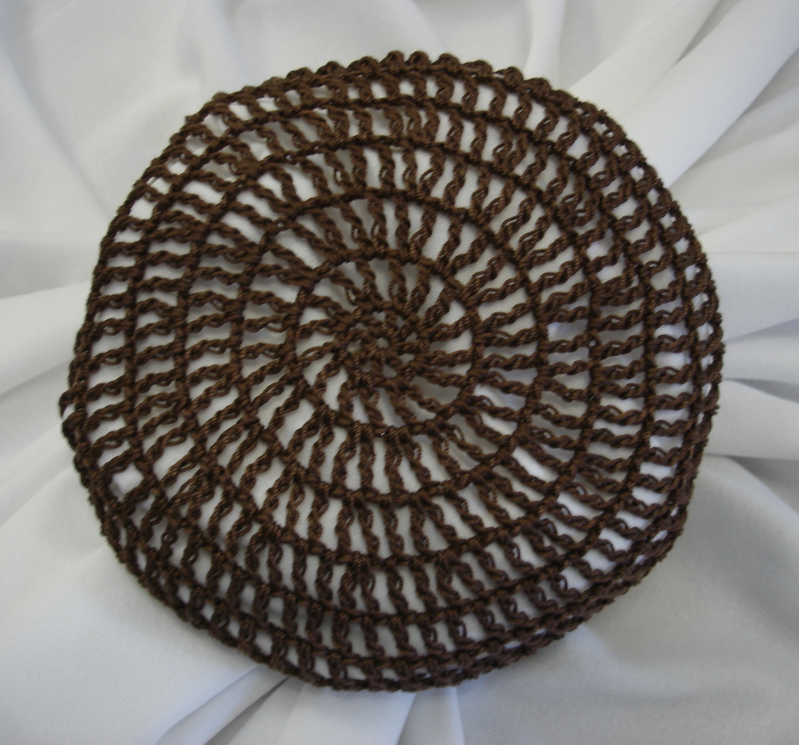 Crochet Hair On Net : Crocheted Traditional Hair Nets / Bun Covers Amish Mennonite