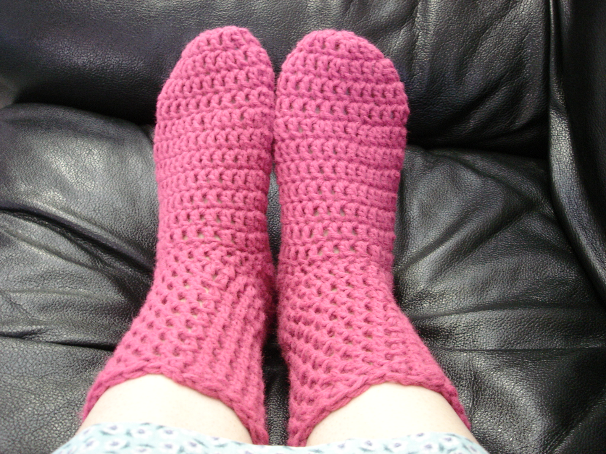 Crochet Sock Pattern merrydeals4u